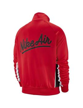 Chaqueta  Nike Air University Red/Black/White/Blac