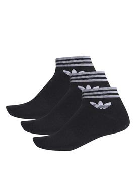 Calcetines Adidas Trefoil Ank Black