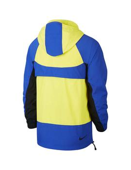 Cazadora Nike NSW Re-Issue JKT Amarillo/Azul Hombre