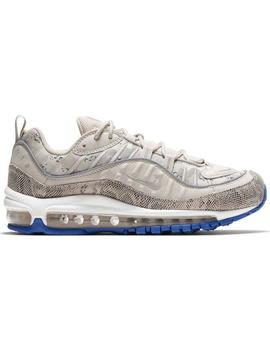 Zapatillas Nike Air Max 98 Prm Beige Mujer