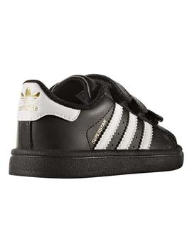 Zapatillas Superstar Cf I Negro/blanco Niño/a