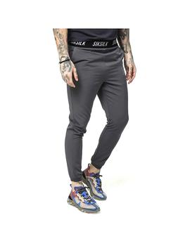 Pantalon SikSilk Pursuit Pants Gris Hombre