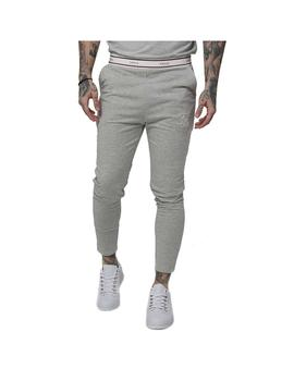 Pantalon SikSilk Sport Pursuit Tape Cuff Grey Marl