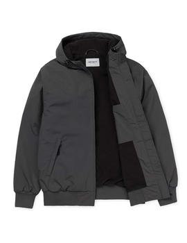 Cazadora Carhartt WIP Hooded Sail Jacket Gris ( Blacksmit)