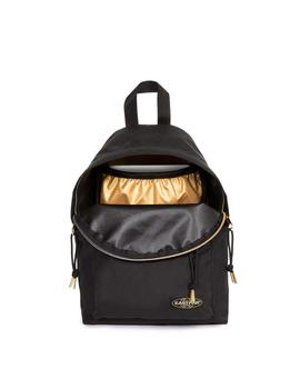 Mochila Eastpak Orbit Sleek'R Goldout Black-G (Negro)
