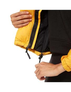 Cazadora The North Face W 1996 Retro Nuptse Amarillo Mujer