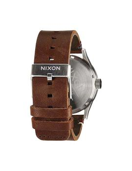 Reloj Nixon Sentry Leather Marron