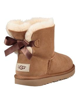 BOTAS UGG K MINI BAILEY BOW II CHESTNUT