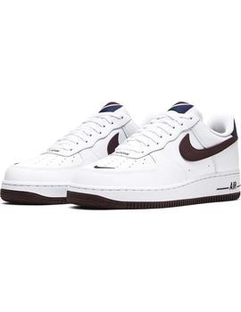 Zapatillas Nike Air Force 1 '07 LV8 Blanco/Granate Hombre