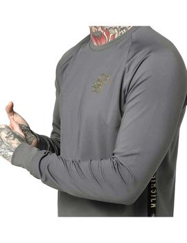 Camiseta SikSilk Taped performance Hombre
