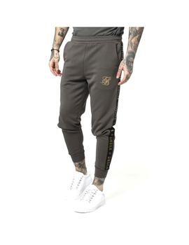 Pantalón SikSilk Cuffed Cropped Taped Joggers Hombre