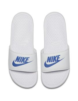CHANCLAS NIKE BENASSI JUST DO IT WHT/VAR