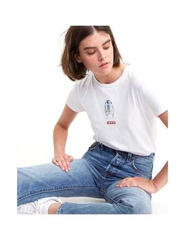 Camiseta Levis The Perfect Blanco Mujer