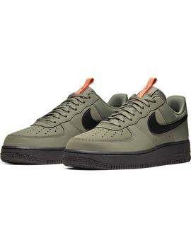 Zapatillas Nike Air Force 1 '07 Medium Verde/Negro Hombre