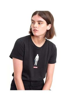 Camiseta Levis The Perfect Rmtroop Negro Mujer