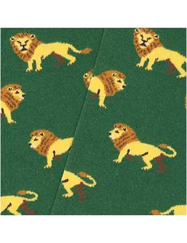 Calcetines Jimmy Lion Lions Green