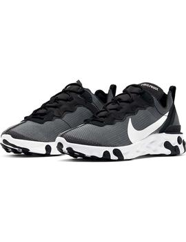 Zapatillas Nike React Element 55 SE Black/White Ho