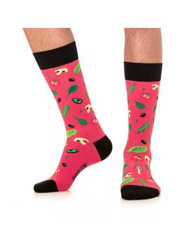 Calcetines Jimmy Lion Salad Dark Pink Mujer