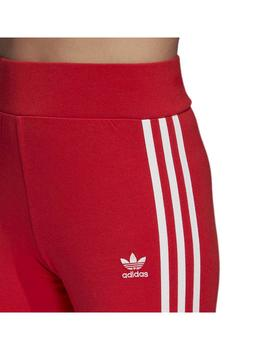 Leggins Adidas 3 Str Tight Rojexu/Blanco Mujer