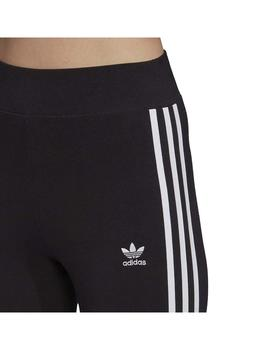 Leggins Adidas 3 Str Tight Negro/Blanco Mujer