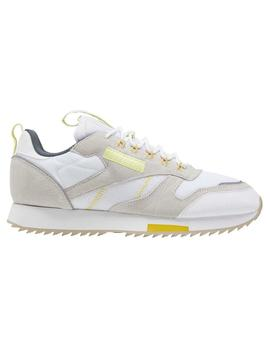 Zapatillas Reebok Cl Leather Ripple T Blanco/Lemgl