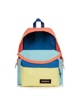 Mochila Eastpak Padded Pak'R Blocked Blue