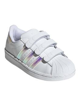 Zapatillas Adidas Superstar Cf C Blanco Niño/a