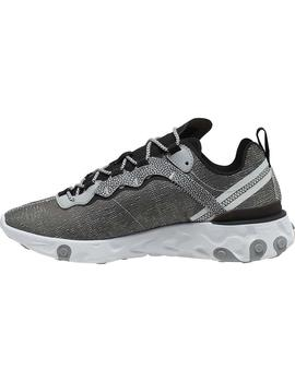 Zapatillas Nike React Element 55 Se Gris Homnbre