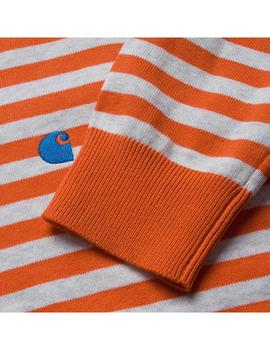 Sudadera Carhartt WIP Scotty Sweater Scotty Naranja Hombre