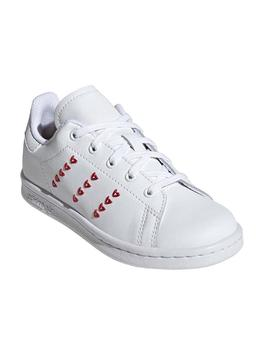 Zapatillas Adidas Stan Smith C Blanco Niño/a