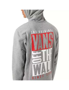 Sudadera Vans New Stax Po Cement Gris Hombre