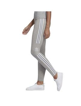 Legging Adidas Trefoil Tight Gris Mujer