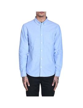 Camisa Carhartt WIP L/S Button Down Pocket Azul Hombre