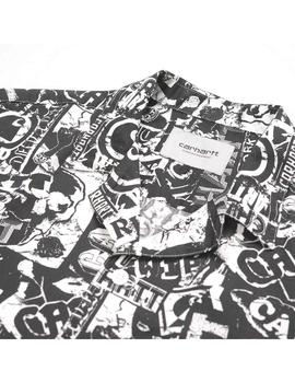 Camisa Carhartt WIP S/S Collage Shirt Collage Print Hombre