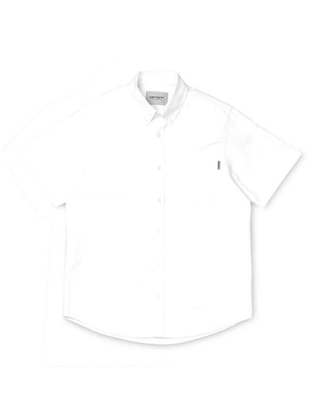 Camisa Carhartt WIP S/S Button Down Pocket Blanco