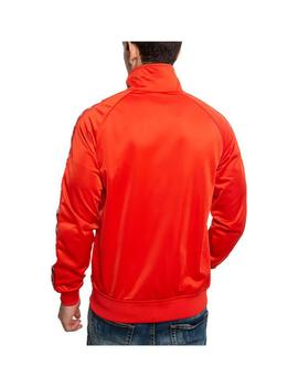 Chaqueta Kappa Anniston Slim Red Blaze/White