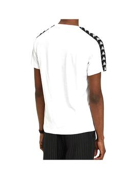 Camiseta Kappa Coen Slim White/Black