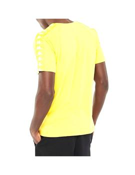 Camiseta Kappa Coen Slim Yellow/White Antique