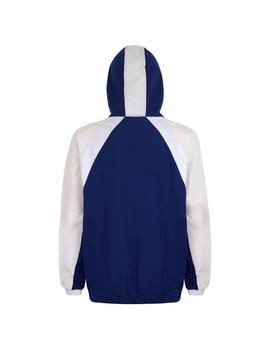 Chaqueta Kappa Bakit Blue Md/White Antique