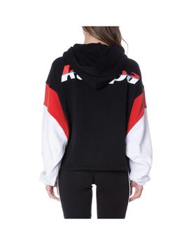 Sudadera Kappa Corys Black/Red/White
