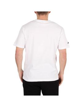 Camiseta Kappa Tahiti White/Black