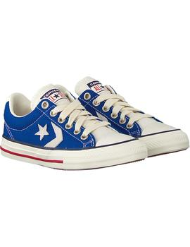 Zapatillas Converse Star Player Ev Ox Blue Niños