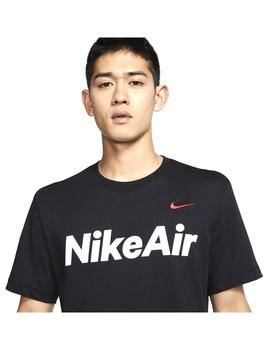 Camiseta Nike Air Black/University Red Hombre