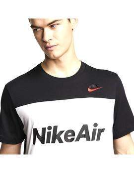 Camiseta Nike Air Black/White Hombre