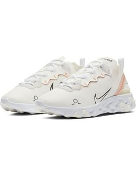 Zapatillas Nike React Element 55 Sail/Black-White Hombre