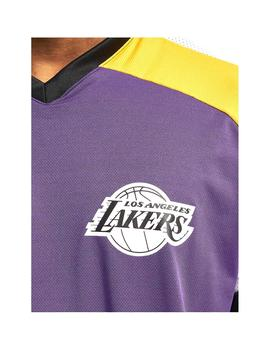 Camiseta New Era Nba Colour Block La Trp Hombre