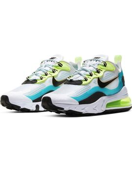 Zapatillas Nike Air Max 270 React Se Oracle/Black
