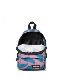 Mochila Eastpak Orbit Brize Leaves Pink Unisex