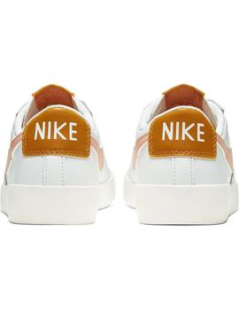 Zapatillas Nike Blazer Low Le Summit White/Pink Mujer