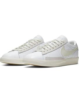 Zapatillas Nike Blazer Low Leather White/Sail Mujer